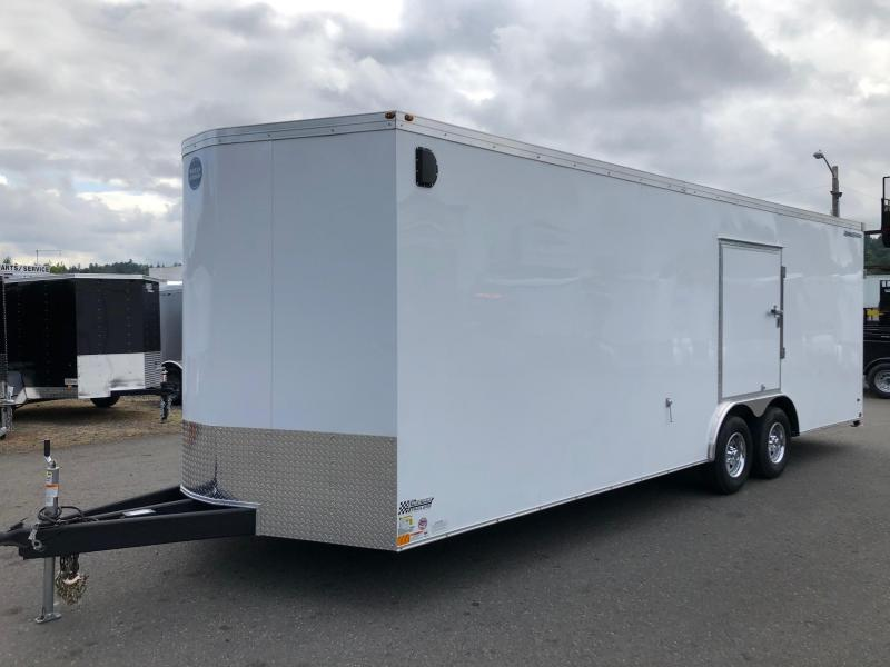 2019 Wells Cargo Road Force V-Nose Car Hauler Car / Racing Trailer