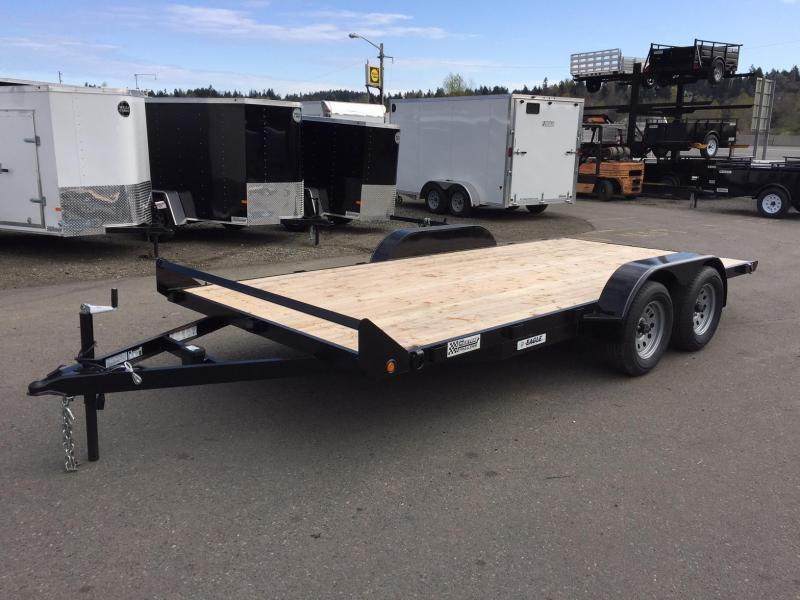 2019 Eagle Trailer E4FB716TA2 Flatbed Trailer