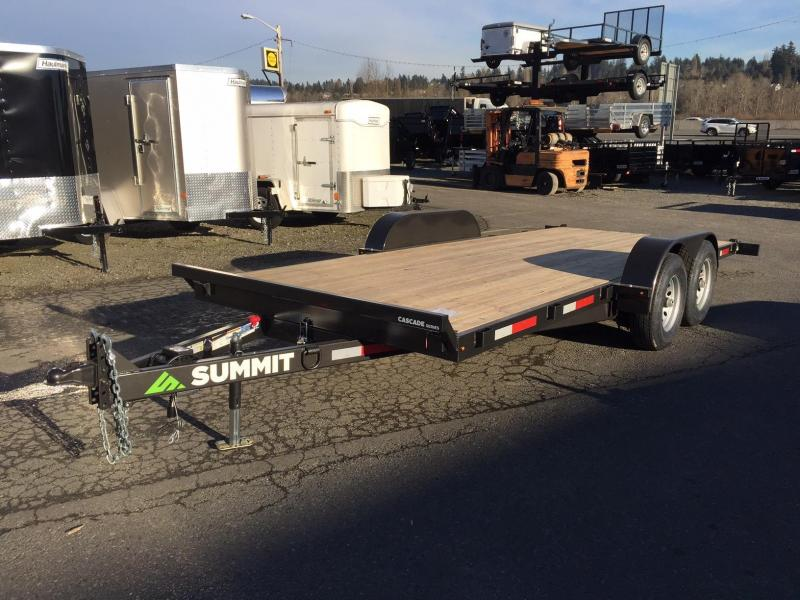 Summit C5TB718TA3 Flatbed Trailer