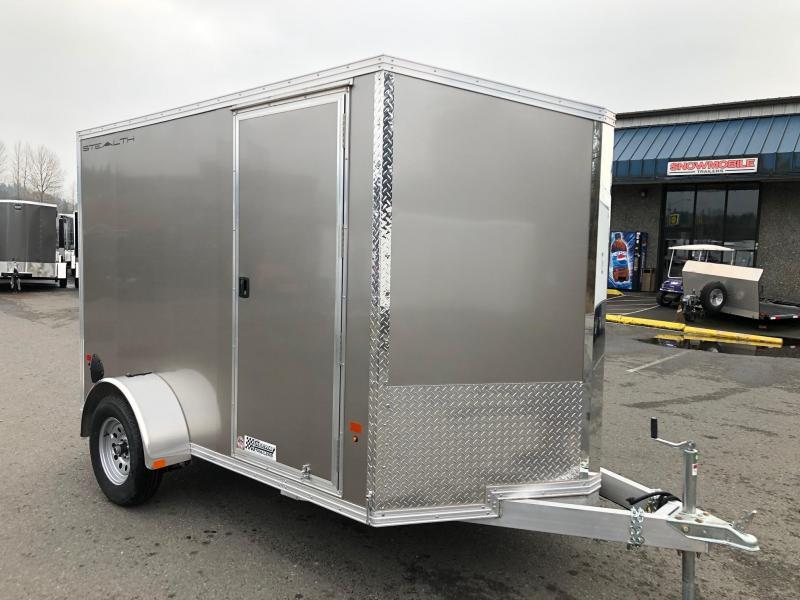 Alcom-Stealth 6' X 10' V-Front Stealth Cargo Enclosed Cargo Trailer