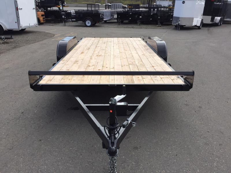 Eagle Trailer EFB718TA3 Flatbed Trailer