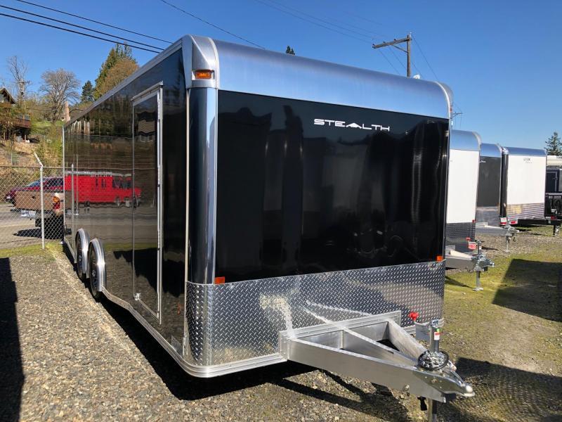 Alcom-Stealth Trailers C8X24SCH-IF Car / Racing Trailer