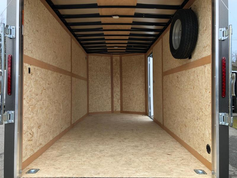Haulmark 7' x 16' V-Front Transport Enclosed Cargo Trailer