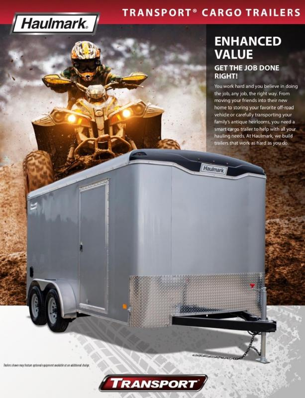 2019 Haulmark TRANSPORT TS610S2 Enclosed Cargo Trailer