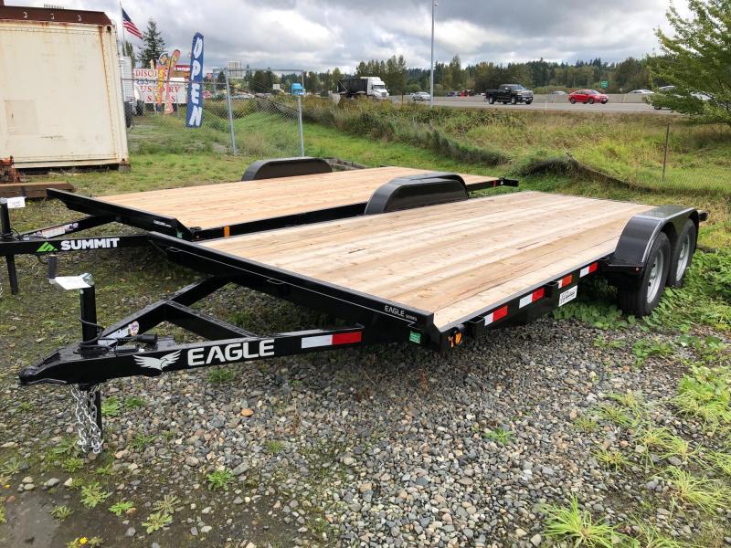 Eagle Trailer 7' x 16' Eagle Flatbed Flatbed Trailer