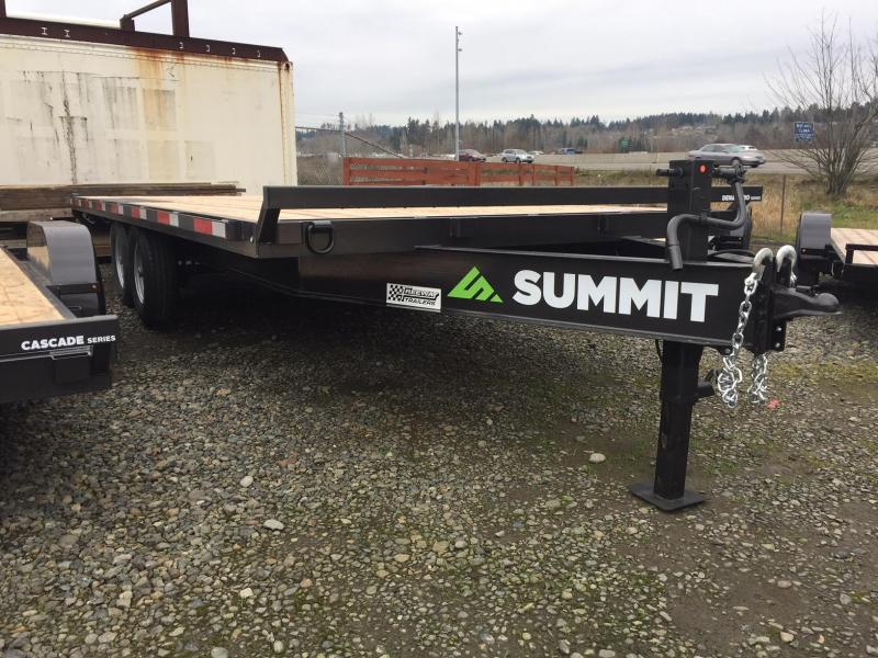 2019 Summit DENALI PRO DPDO8520TA5 Flatbed Trailer