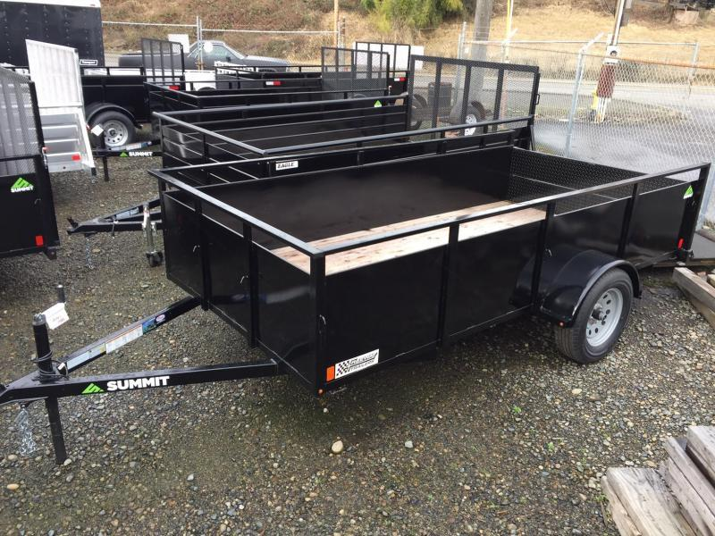 2019 Summit Alpine Split Ramp Utility Trailer