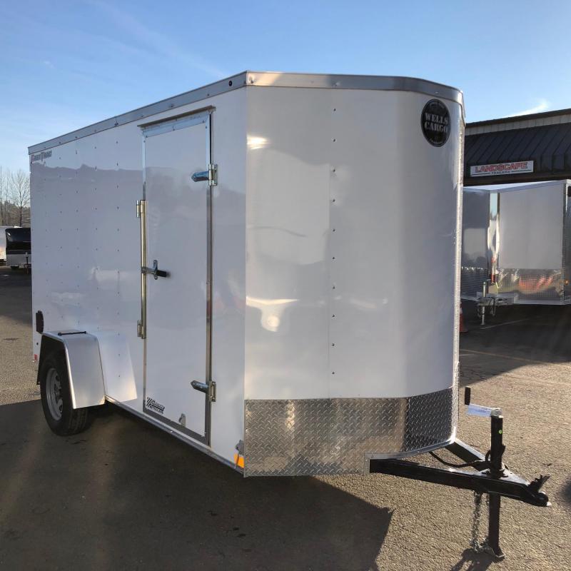 Wells Cargo 6' x 12' Fast Trac Enclosed Cargo Trailer