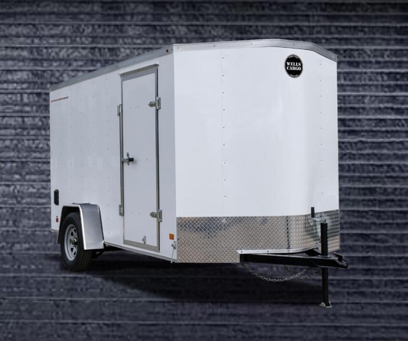 Wells Cargo 6' x 12' Fast Trac Enclosed Cargo Trailer