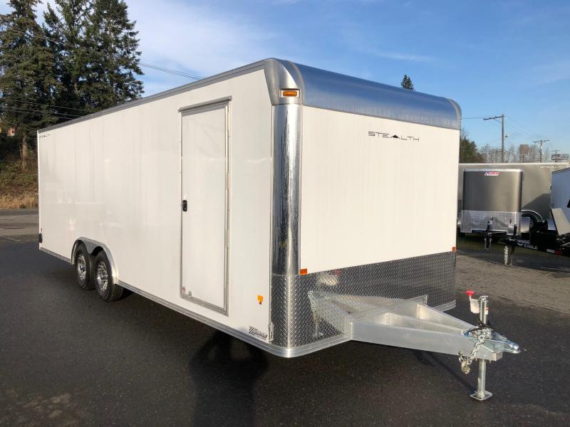 2018 Alcom-Stealth STEALTH SUPREME C8X24SSUPCH-IF Car / Racing Trailer