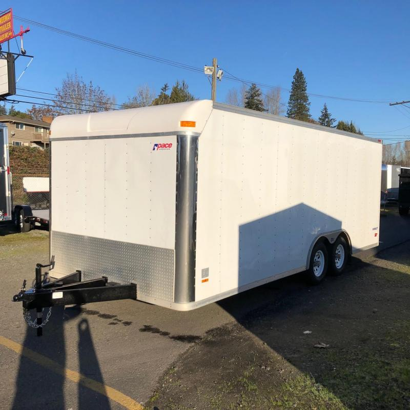 2004 Pace American 8.5 X 20 CAR HAULER Car / Racing Trailer