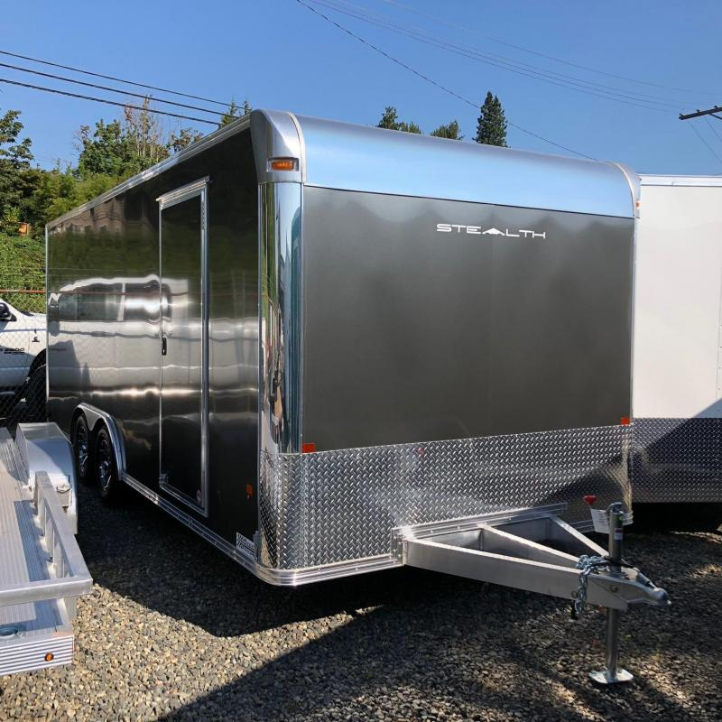 2018 Alcom-Stealth C8X20SCH-IF Car / Racing Trailer
