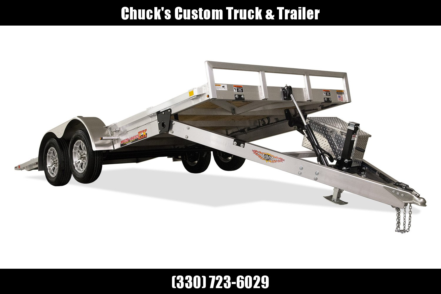 2019 H and H Trailer 82X18 ELEC. LP SPEEDLOADER ALUM 7K