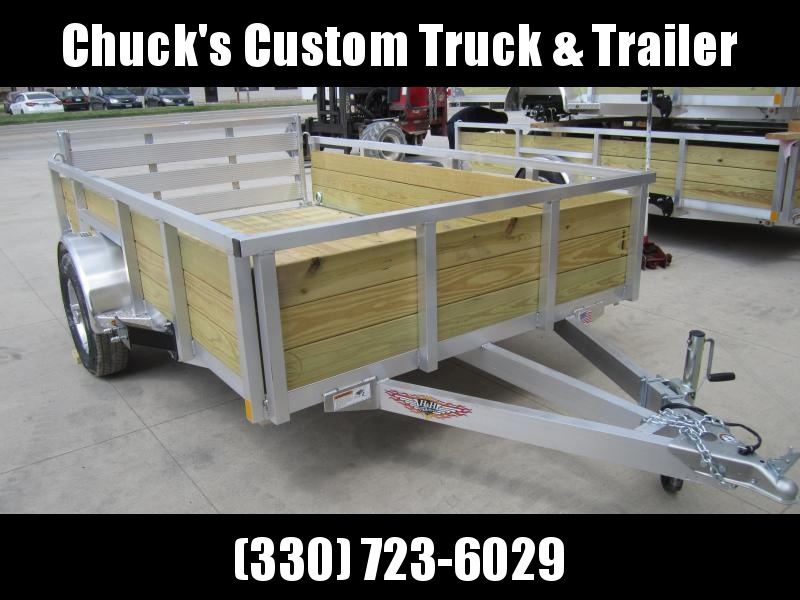 2019 H and H Trailer 8(76)X12 WOOD-SIDE ALUM 3K