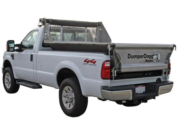 2018 DumperDogg 8' STAINLESS STEEL DUMPER Truck Bed