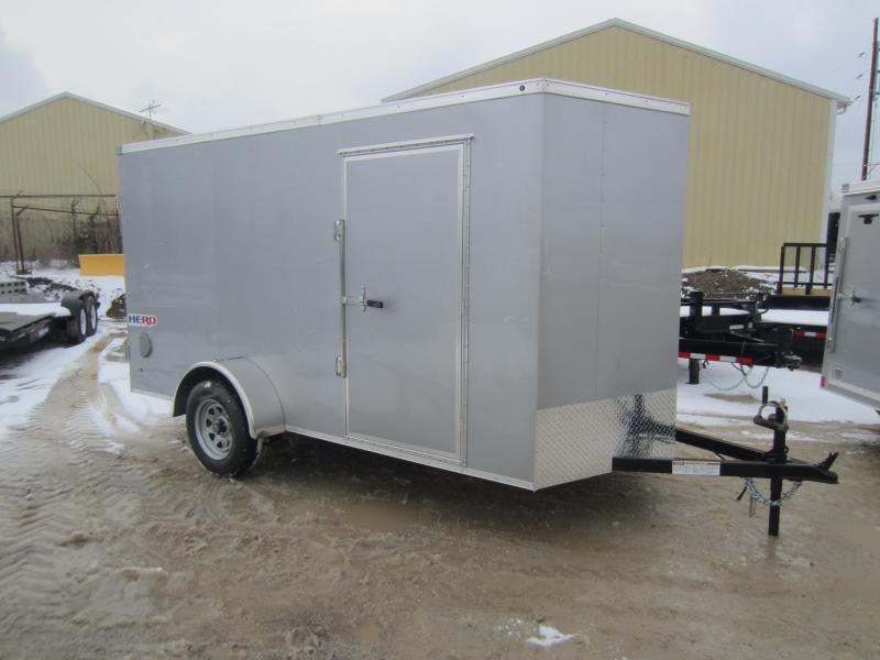 2018 Bravo Trailers 6X12 HERO SWING DOORS Enclosed Cargo Trailer