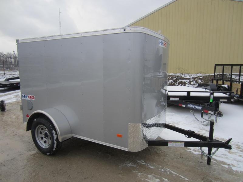 2018 Bravo Trailers 5X8 HERO BY BRAVO SWING DOOR Enclosed Cargo Trailer