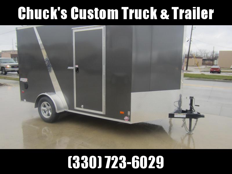 2019 Bravo Trailers 7X12 RAMP DOOR Enclosed Cargo Trailer
