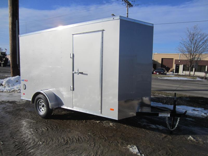 2018 Bravo Trailers 6X12 HERO RAMP DOOR Enclosed Cargo Trailer