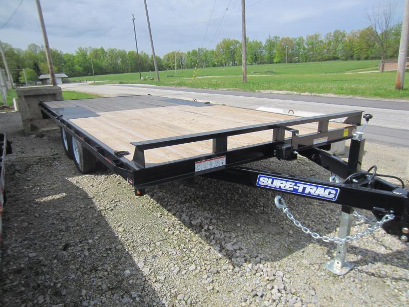 2018 Sure-Trac 8.5 X 18 Flat Deck Deckover 10k