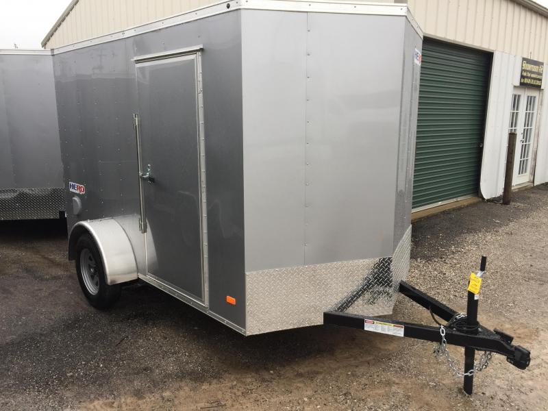 2018 Bravo Trailers 6X10 RAMP DOOR Enclosed Cargo Trailer