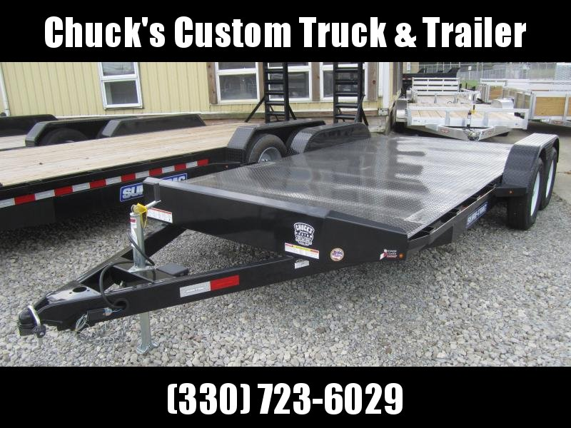 2019 Sure-Trac 7 x 18 Steel Deck Car Hauler  7k