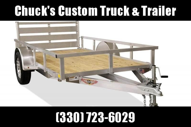 2019 H and H Trailer 60X8 TUBE TOP Utility Trailer