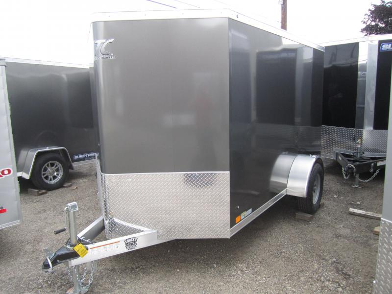 2019 Aluminum Trailer Company 6X10 ALUMINUM RAMP DOOR Enclosed Cargo Trailer