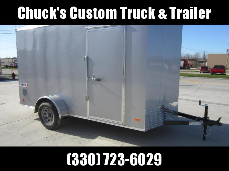 2019 Bravo Trailers 6X12 HERO SWING DOORS Enclosed Cargo Trailer
