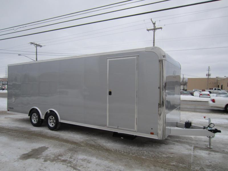 2018 ATC 8.5X24 CAR HAULER ALUMINUM Enclosed Cargo Trailer