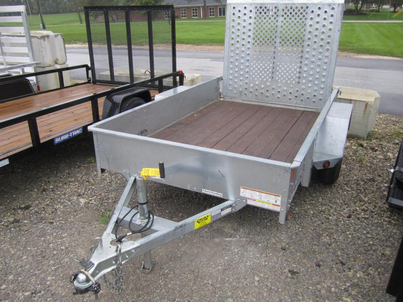 2014 Sure-Trac 5 x 8 Galvanized High Side 3k Idler