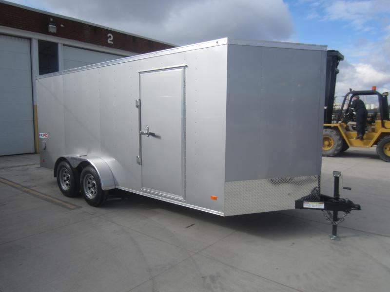 2018 Bravo Trailers 7X16 HERO BY BRAVO RAMP DOOR Enclosed Cargo Trailer