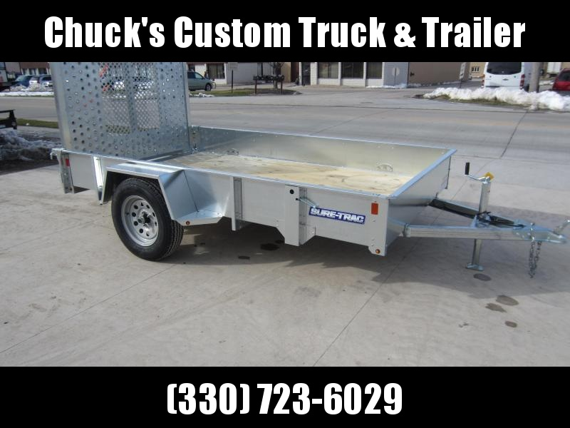 2018 Sure-Trac 6 x 10 Galvanized High Side 3k Idler