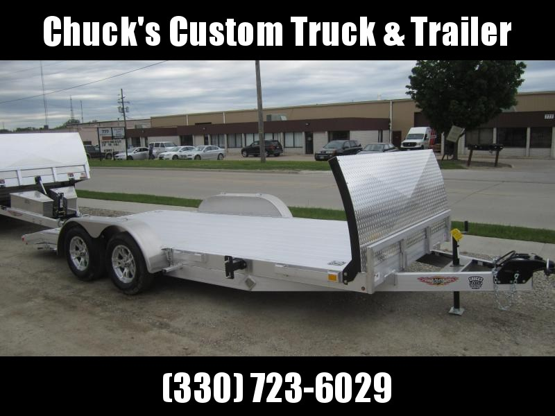 2019 H and H Trailer 82x16+2DOVE HEAVYDUTY LOWPRO ALUM 7K