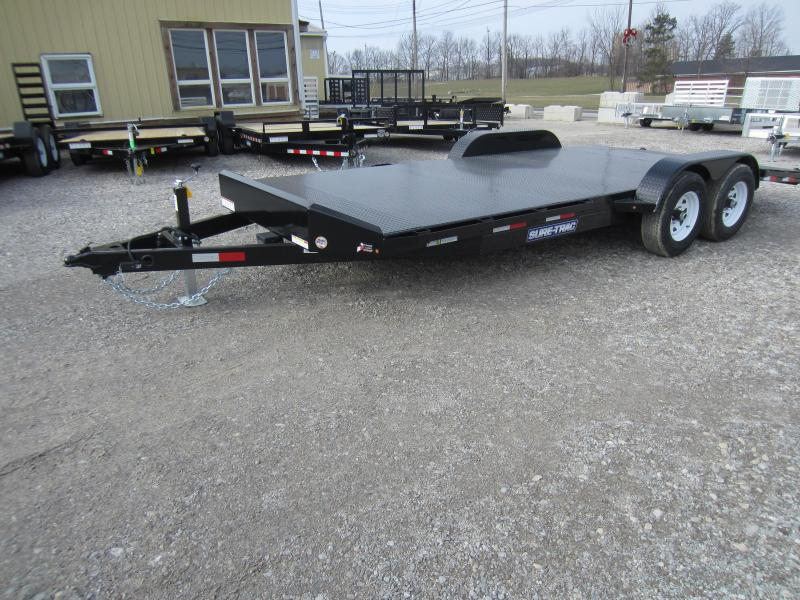 2018 Sure-Trac 7 x 20 Steel Deck Car Hauler 10k