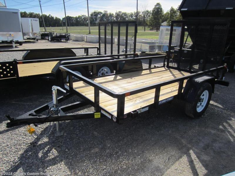 2018 Sure-Trac 5 X 10 Tube Top Utility Trailer