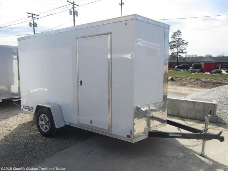 2018 Sure-Trac 6 X 12 Enclosed Cargo Trailer w/Ramp Door