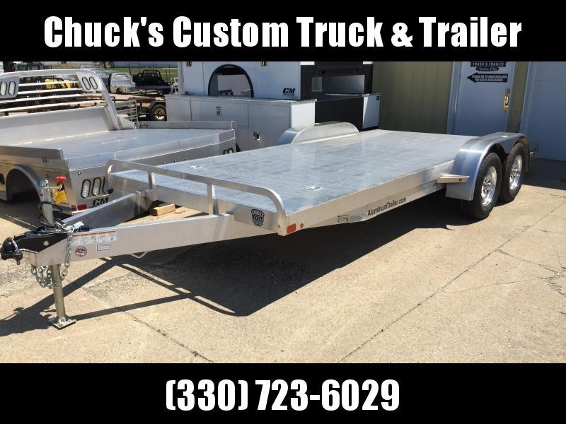 2019 Aluminum Trailer Company 8.5X18 ALUMINUM CAR HAULER Car / Racing Trailer