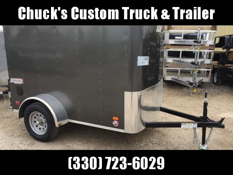 2019 Bravo Trailers 5X8  BARN DOOR Enclosed Cargo Trailer
