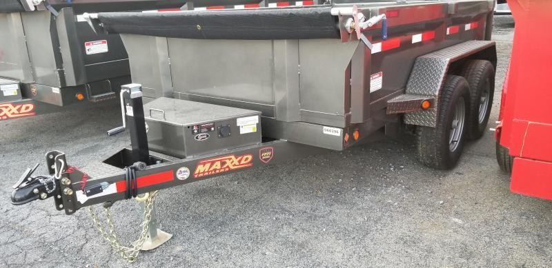 2019 Maxxd 6 X 10D7X Dump Trailer 10K SLIDE-IN RAMPS