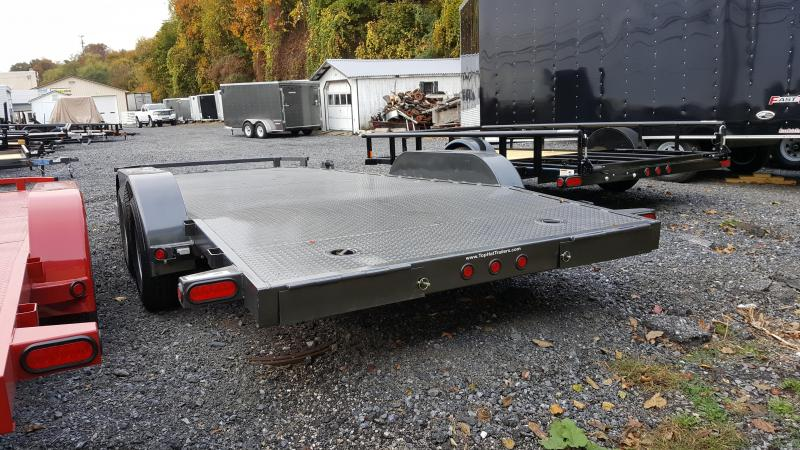 2018 Top Hat Trailers Steel Deck 7 X 18 Car Hauler