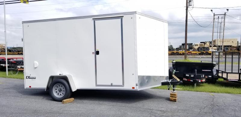 2019 Cargo Express 7 X 12SE EX DLX Enclosed Trailer