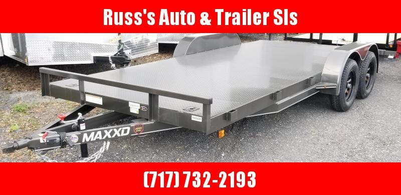 2019 Maxxd Trailers C3M 7X18 Steel Deck WS channel CarHauler 7k