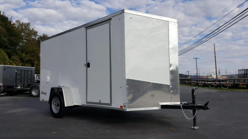 2018 Cargo Express XLW SE 6X12 Enclosed Trailer w/Barn Doors