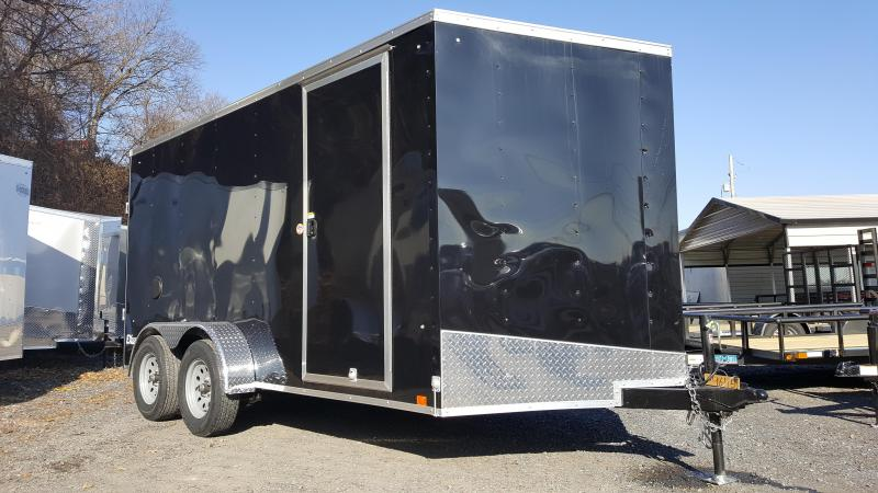 2018 Cargo Express 7 X 14 EX DLX Enclosed Trailer w/ Ramp Door