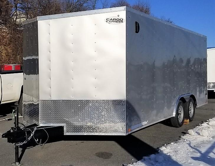 2020 Cargo Express 8.5X18 Enclosed Cargo Trailer 7ft Int Ht