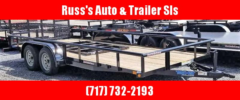 2020 Top Hat Trailers MP 7 x18 Utility Trailer