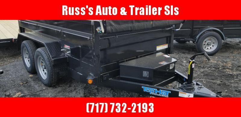 2019 Top Hat Trailers DP70 5X10 Dump Trailer
