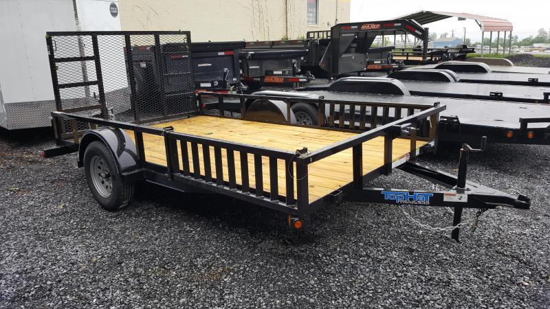 2018 Top Hat 7 X 12 ATV Trailer w/ Side Loading Ramps