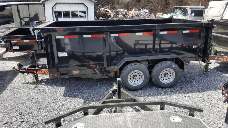 2018 Maxxd  7X14 Dump Trailer HD w/ 7' Slide-In Ramps